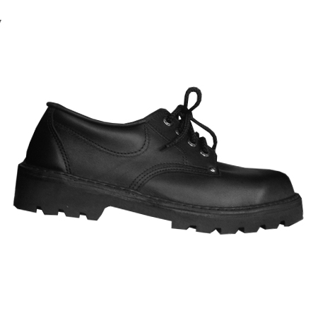 St Patrick's Wellington Delta Shoes Black