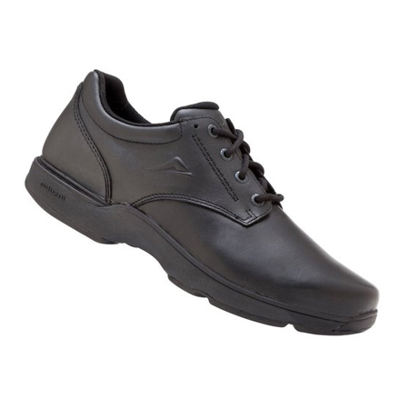 Apex Senior Narrow B Black Shoes