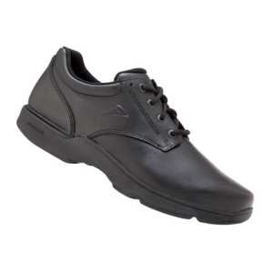Ascent Apex Senior Narrow B Black Shoes NZ/US Sizes 3-8 years